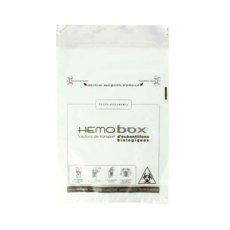 micro-perforated pouch clear