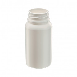 HDPE pill container - 125 ml