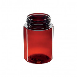 PET pill container - 75 ml
