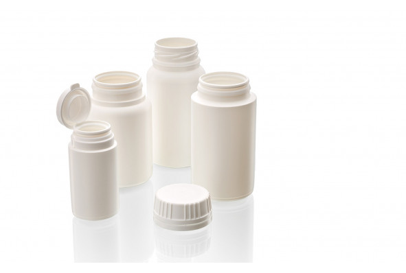 PET & HDPE pill containers